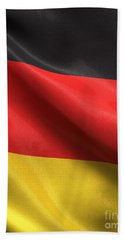 Hand Towel featuring the photograph Germany Flag by Carsten Reisinger