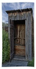 Ghost Town Outhouse - Montana Hand Towel