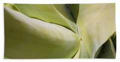 Giant Agave Abstract 9 Bath Towel