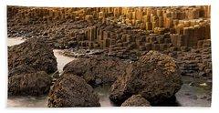 Giants Causeway, Antrim Coast, Northern Bath Towel