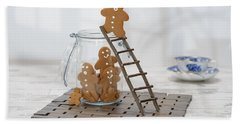 Gingerbread Ladder Hand Towel