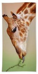 Designs Similar to Giraffe Eating Close-up