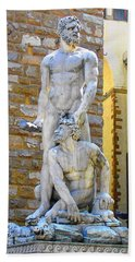 Glance At Hercules And Casus Hand Towel by Oleg Zavarzin