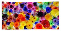 Glass Garden Bath Towel by Benjamin Yeager