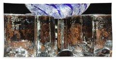 Glass On Glass Hand Towel by Jolanta Anna Karolska