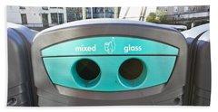Glass Recycling Bath Towel