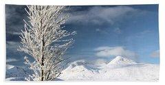 Glencoe Winter Landscape Hand Towel