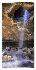 Glory Hole Falls - Arkansas - Waterfall Hand Towel