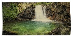 Hand Towel featuring the photograph Glory Pool by Priscilla Burgers