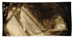 Glory Rays Bath Towel by Priscilla Burgers