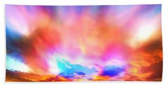 Glory Sunset Hand Towel by Patricia L Davidson
