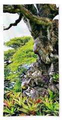 Gnarled Tree  Bath Towel