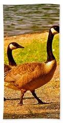 Go Geese Bath Towel