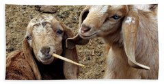 Goats #2 Bath Towel