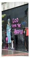 God Save The People Hand Towel