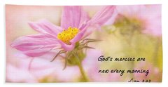 God's Mercies Bath Towel