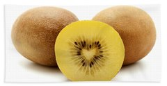 Hand Towel featuring the photograph Gold Kiwifruit by Fabrizio Troiani