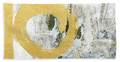 Gold Rush - Abstract Art Hand Towel