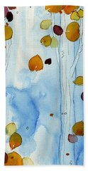 Golden Aspens Bath Towel by Dawn Derman