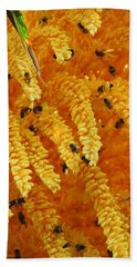 Golden  Buzz Bath Towel