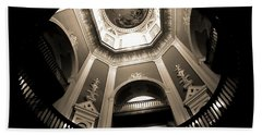 Golden Dome Ceiling Hand Towel by Dan Sproul