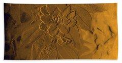 Golden Effulgence Bath Towel by Jeanette C Landstrom
