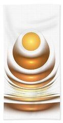 Golden Egg Bath Towel