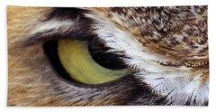 Golden Eye  Hand Towel
