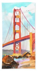 Golden Gate Bridge 3 Hand Towel