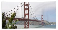 Golden Gate Bridge 3 Bath Towel
