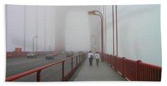 G. G. Bridge Walking Hand Towel