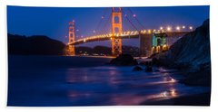 Golden Gate Glow Bath Towel