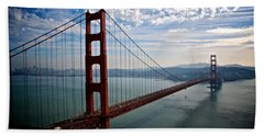 Golden Gate Open Hand Towel