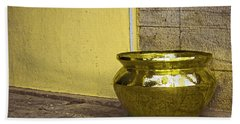 Golden Pot Hand Towel