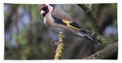 Goldfinch Hand Towel