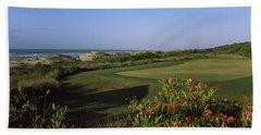Golf Course At The Seaside, Kiawah Hand Towel