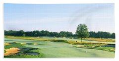 Golf Course, Royce Brook Golf Club Hand Towel