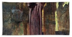 Golgotha, 1892-93 Oil On Canvas Hand Towel