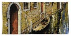 Gondola A Venezia Bath Towel