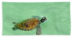 Bath Towel featuring the photograph Good Day For A Swim  by Susan  McMenamin