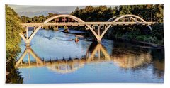 Good Morning Grants Pass II Hand Towel by Heidi Smith