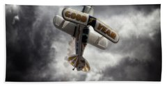 Bath Towel featuring the photograph Good Year Cloud by Paul Job
