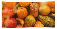 Hand Towel featuring the photograph Gorgeous Gourds by Ira Shander