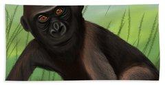 Gorilla Greatness Bath Towel