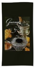 Gourmet Cover Featuring A Wine Cooler Bath Towel
