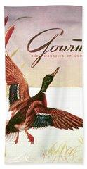 Gourmet Cover Of A Goose Bath Towel