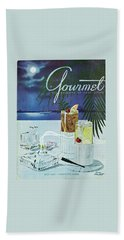 Gourmet Cover Of Cocktails Bath Towel