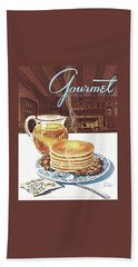 Gourmet Cover Of Pancakes Bath Towel