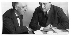 Gov. Al Smith And Roosevelt Hand Towel