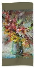 Grace And Beauty Hand Towel by Mary Wolf